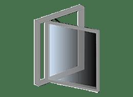 Sidestyrede vinduer