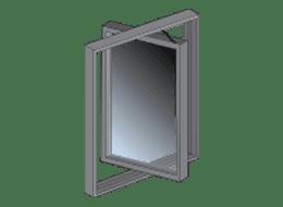 Sidevende vinduer