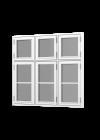 Rationel FORMA BASIC Dannebrogsvindue 3 fag m vandret sprosse