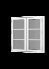 Rationel FORMAPLUS BASIC Sidehængt m. 2 fag og 2 vandrette sprosser