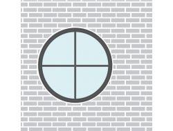 Runde vinduer