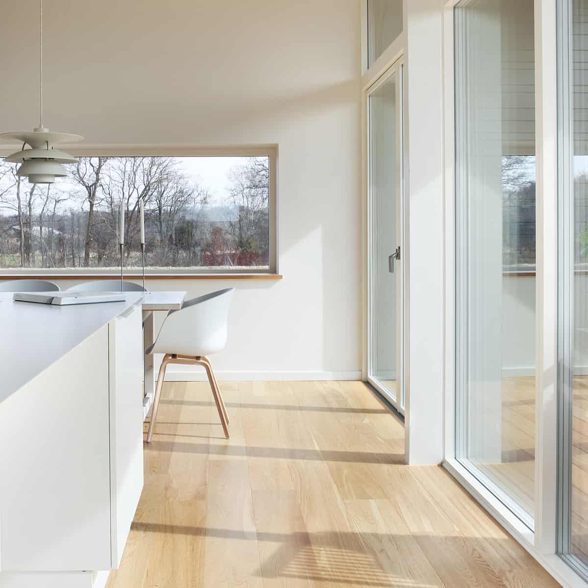 Terrassedør med Rationel Sun-glas