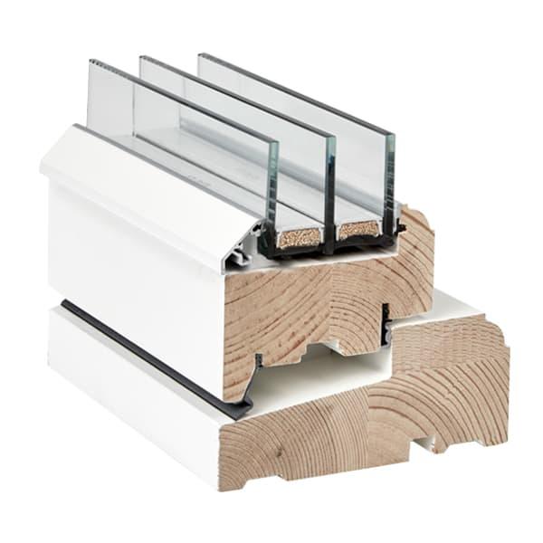 Klassisk vindue i træ - Rationel FORMA
