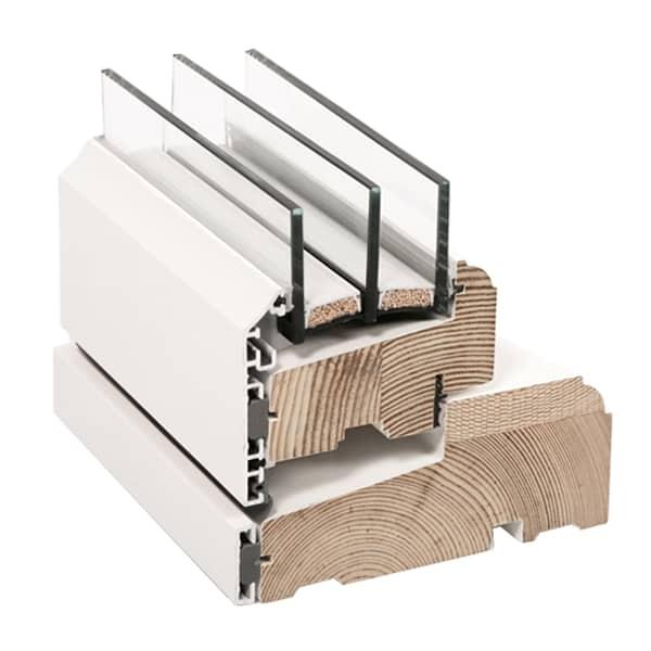 Klassisk vindue i træ/alu - Rationel FORMAPLUS