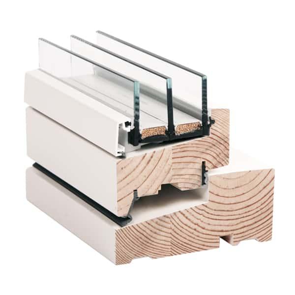 Moderne vindue i træ - Rationel AURA