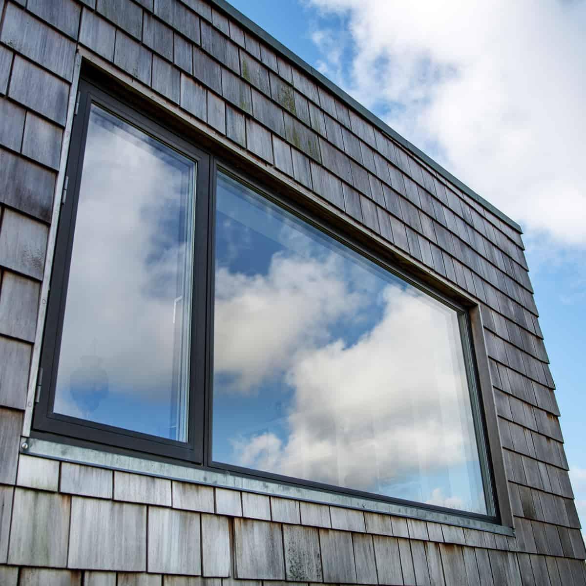 kombination af fastkarmsvindue og andre vinduestyper