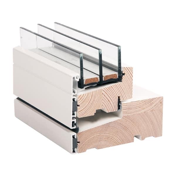 Moderne vinduer i træ/alu - Rationel AURAPLUS