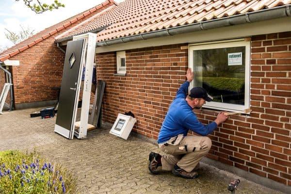 Husk håndværkerfradraget når du skifter vinduer