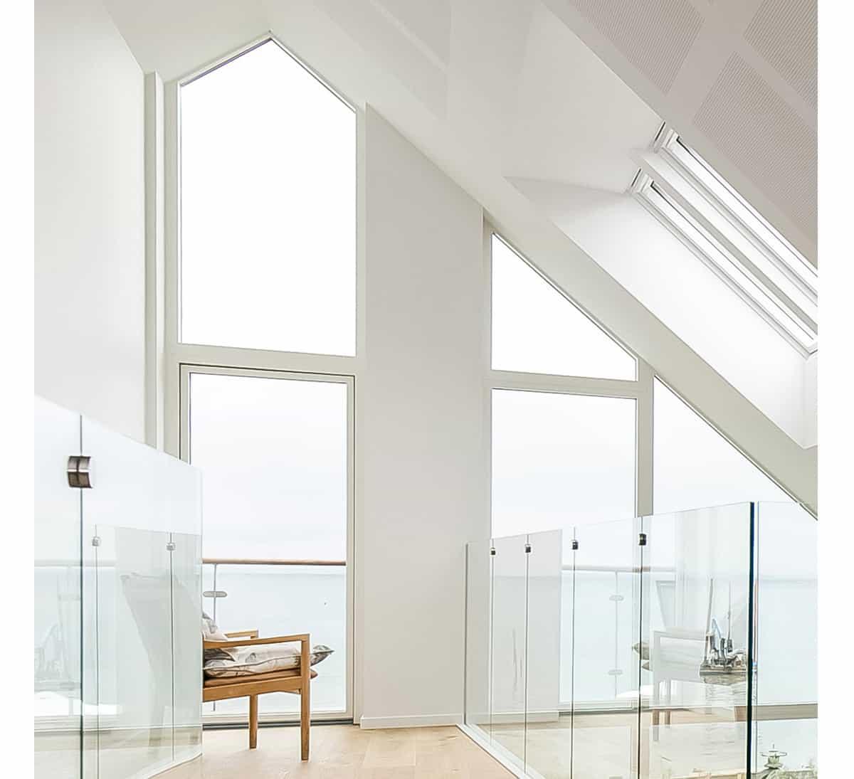 Vindue i alle former - Udvalg af vinduer i forskellige