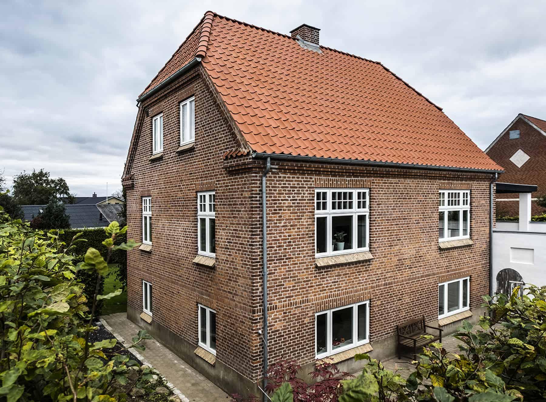Murermestervilla med klassiske Rationel FORMAPLUS vinduer