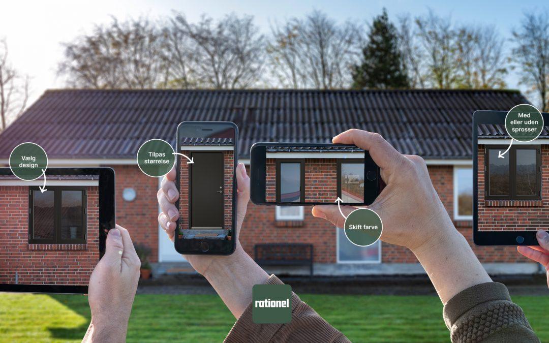 Se nye vinduer og døre i dit hus med ny app
