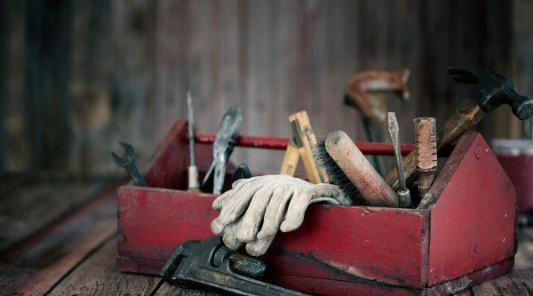 værktøjskasse til justering af vinduer